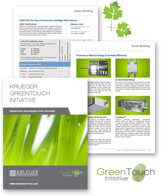 Krueger GreenTouch Initiative