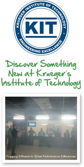 Krueger Institute of Technology (KIT) Logo